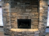 thumbs rock fireplace with ashlar pattern Project Gallery