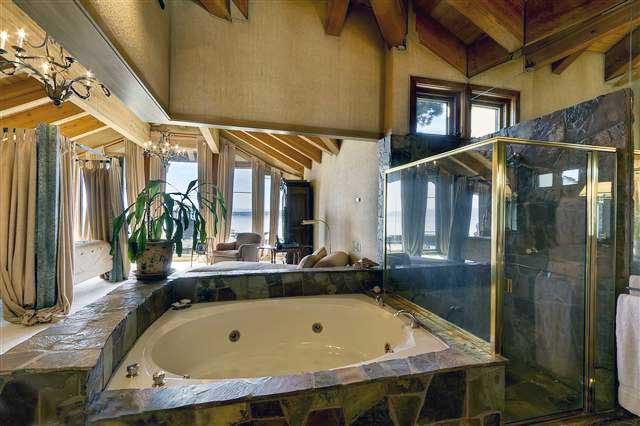 Stone Shower And Spa